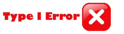 Type One Error in statistics